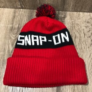 Vintage Snap On Stocking Hat